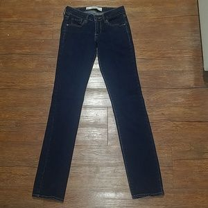 Abercrombie & Fitch 00R W24 L33 teen jeans